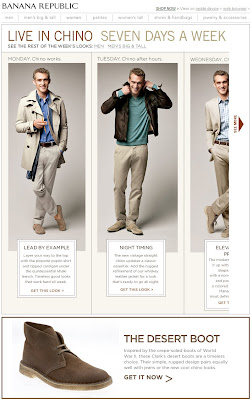 Click to view this Feb. 16, 2010 Banana Republic email full-sized