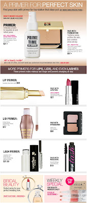 Click to view this May 13, 2009 Sephora email full-sized