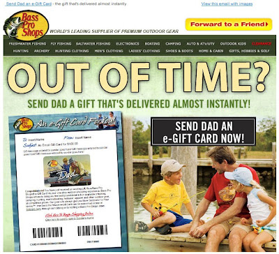 Click to view this June 15, 2010 Bass Pro Shops email full-sized