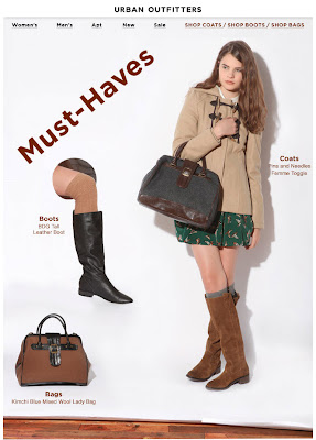Click to view this Oct. 14, 2010 Urban Outfitters email full-sized