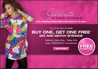 Click to view this Nov. 29, 2010 Lane Bryant email full-sized