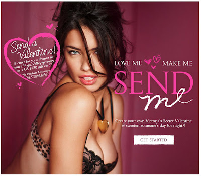 Click to view this Jan. 27, 2011 Victoria's Secret email full-sized