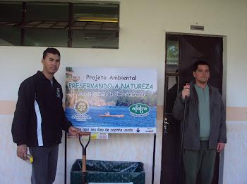 Projeto Ambiental Preservando a Natureza - parceria com a AFUBRA