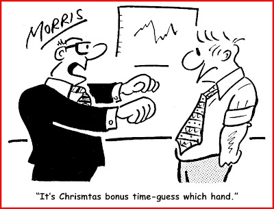 Holiday Incentive Cartoon 2009