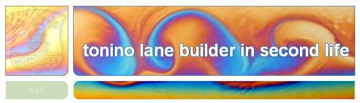 Tonino Lane builder in Second Life