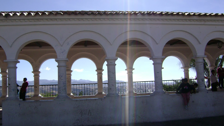 The Walkway Along the Mirador in Sucre