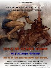 CARTAZ DO CICLO DE FILMES SOBRE MITOLOGIA GREGA