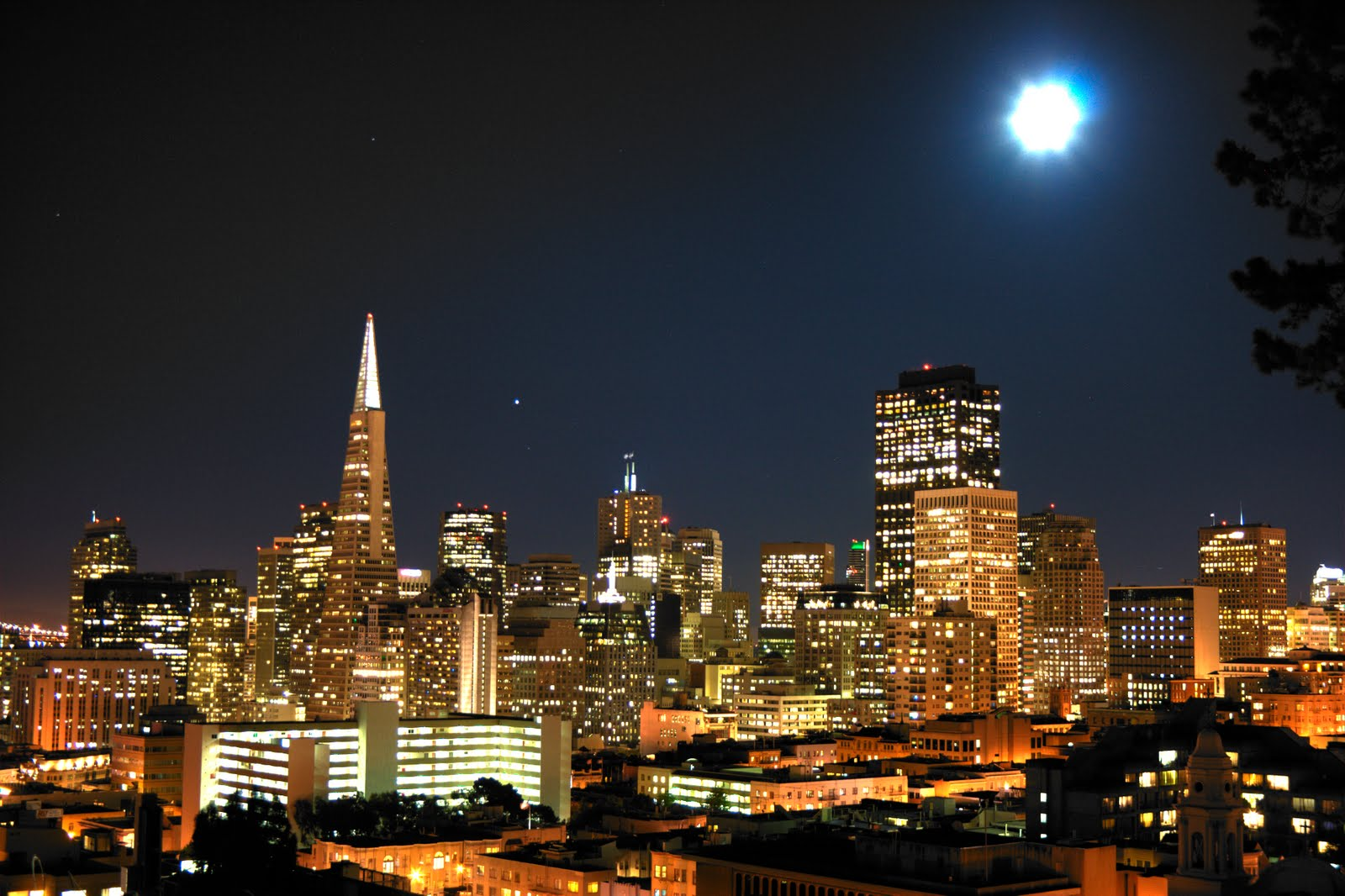 Superior San Francisco City Lights Amazing Design