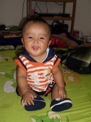 baby farzan laughing