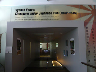entrance to the gallery, Syonan years Singapore under Japanses Occupation 1942-1945