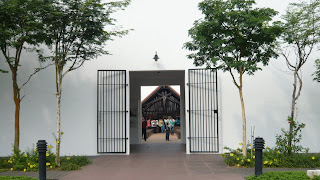 entrance to the Changi Chapel