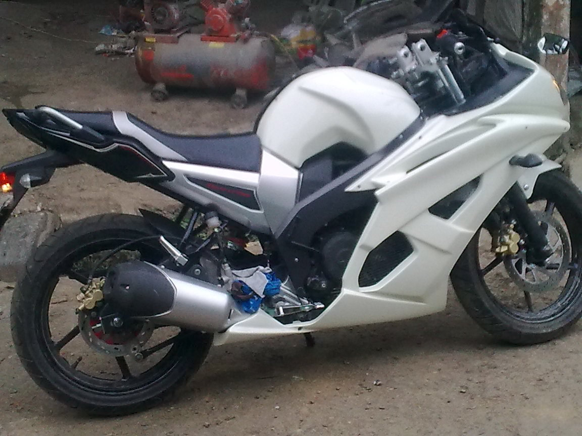 Modif Yamaha Byson 2012