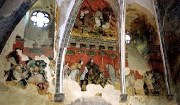 Unique au monde : LA LEGENDE de TRISTAN et ISEULT racontée sur les murs du Château