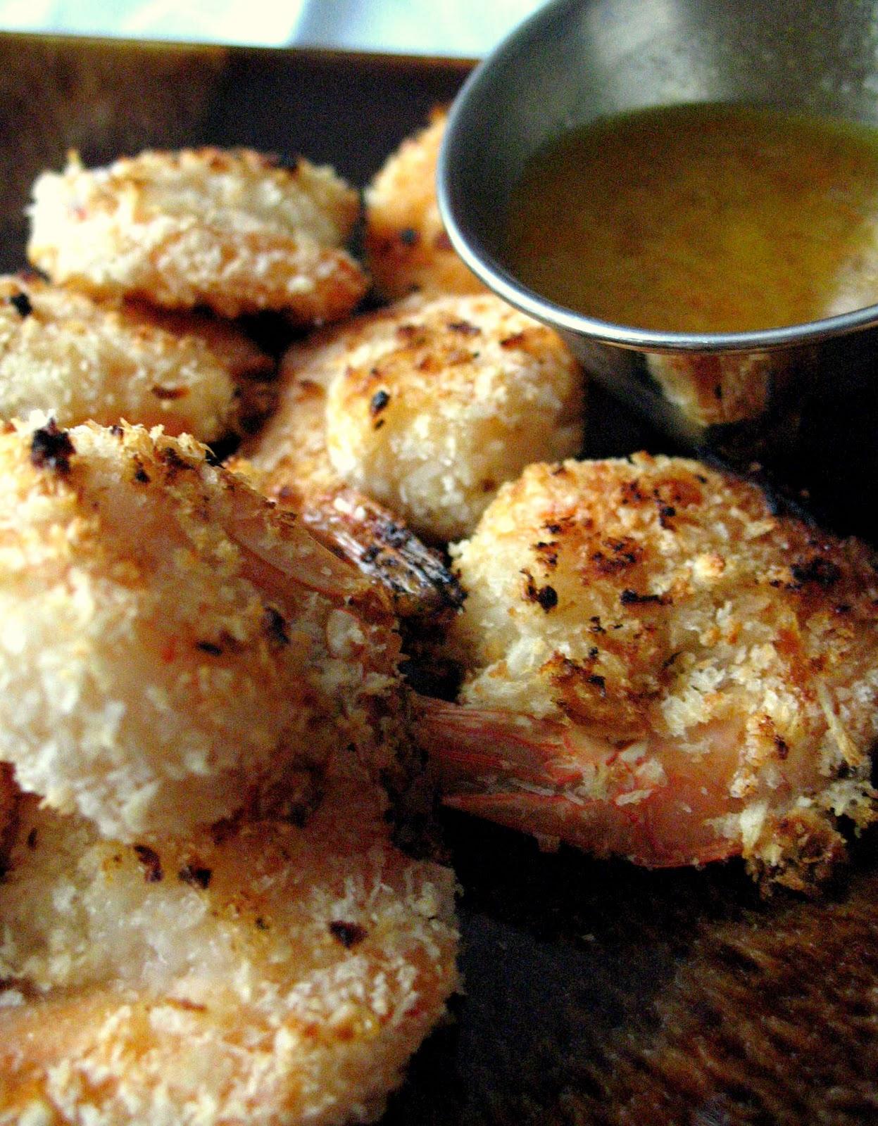 baked coconut shrimp 10 large shrimp peeled and deveined tails