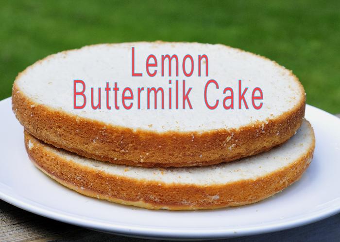 Haniela's: Lemon Buttermilk Cake/Cupcakes