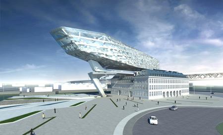 Antwerp Port House [Zaha Hadid Architects]