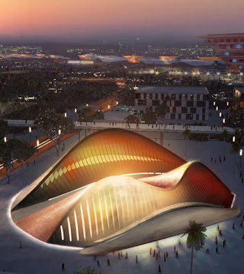 UAE pavillion at shanghai expo 2010 | World Architecture