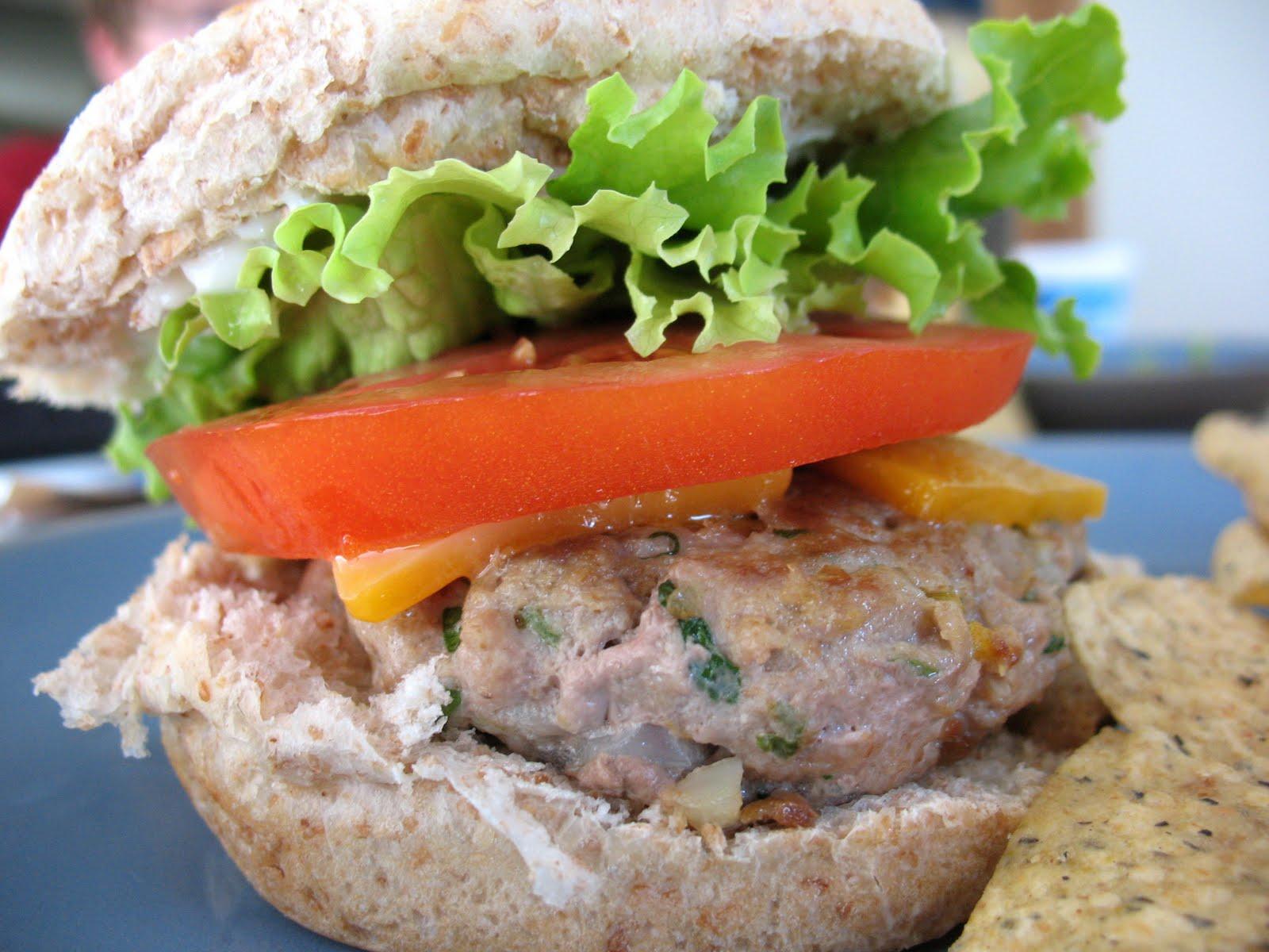 Southwest Turkey Burgers ~ Chasing Tomatoes