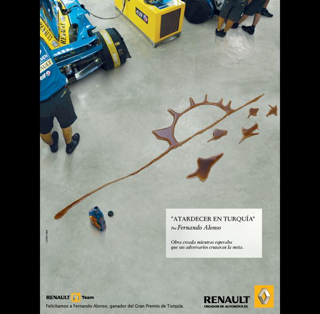 """""""Atardecer en Turquía"""" para Renault F1 Team"""
