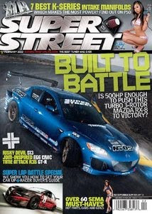 Download Free ebooks Super Street - February 2010