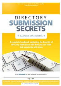 Download Free ebooks Directory Submission Secrets