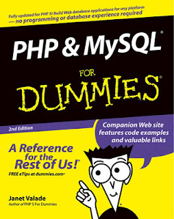 Download Free ebooks PHP & MySQL For Dummies