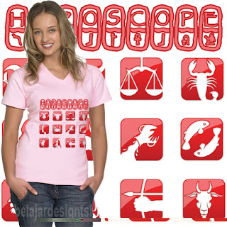 belajar design t-shirt | HOROSCOPE STYLE T-SHIRT DESIGN