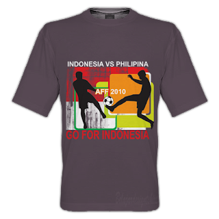 belajar design t-shirt | Go for Indonesia t-shirt