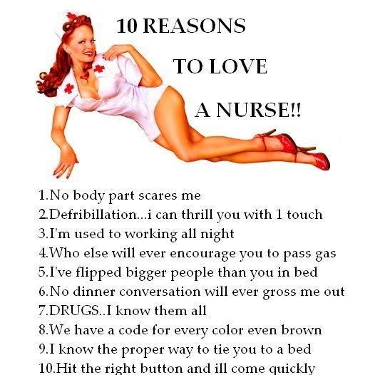 to love a nurse — Doctor Jokes , Funny Pictures — Funny Jokes