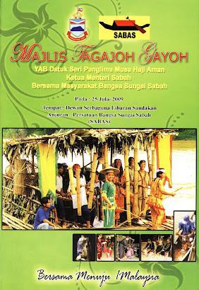 Buku Cenderamata Majlis Tagajoh Gayoh