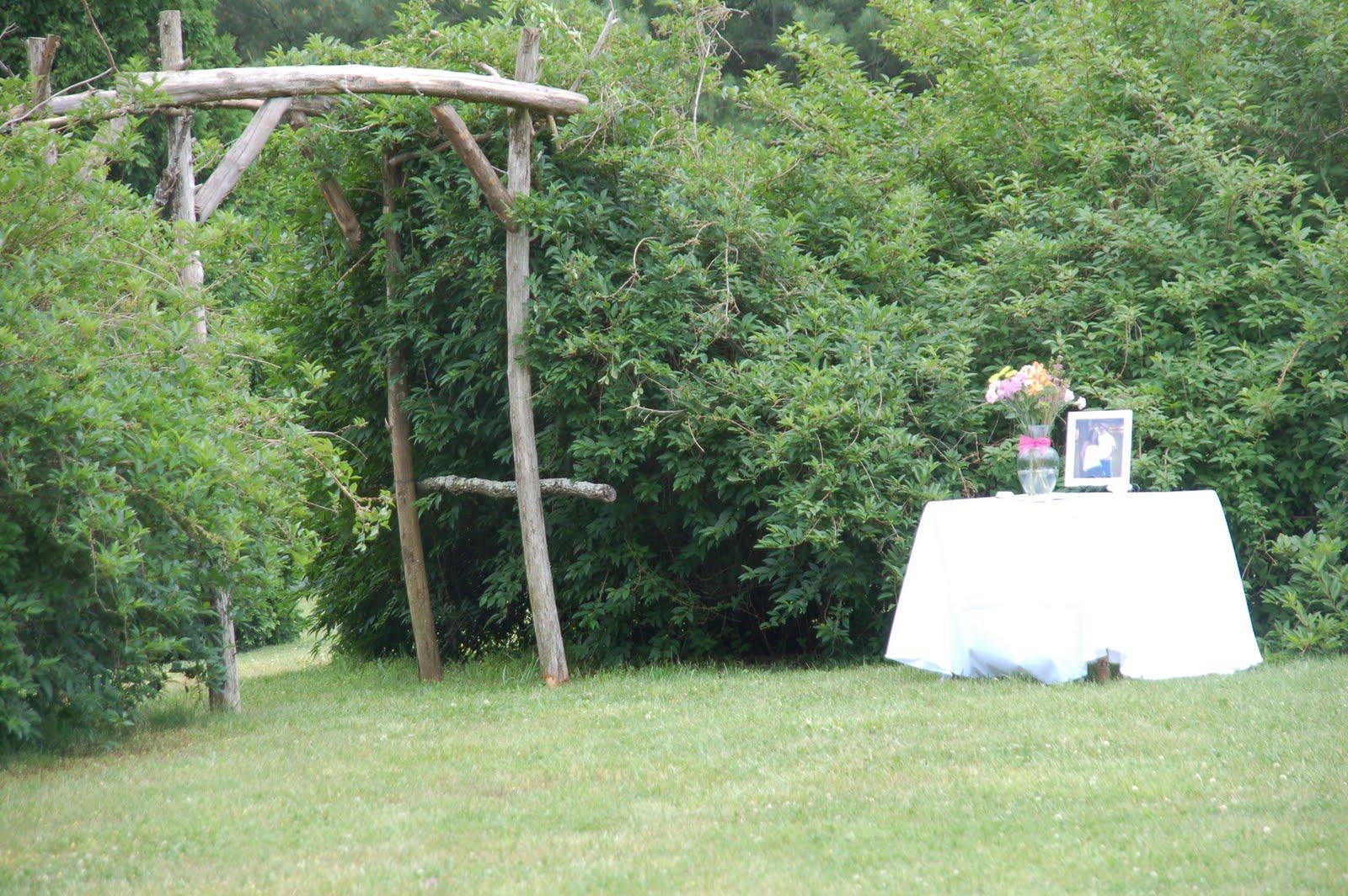 Corey and lindsey married at whisperwood farm today for Dodgen cabin rentals gatlinburg