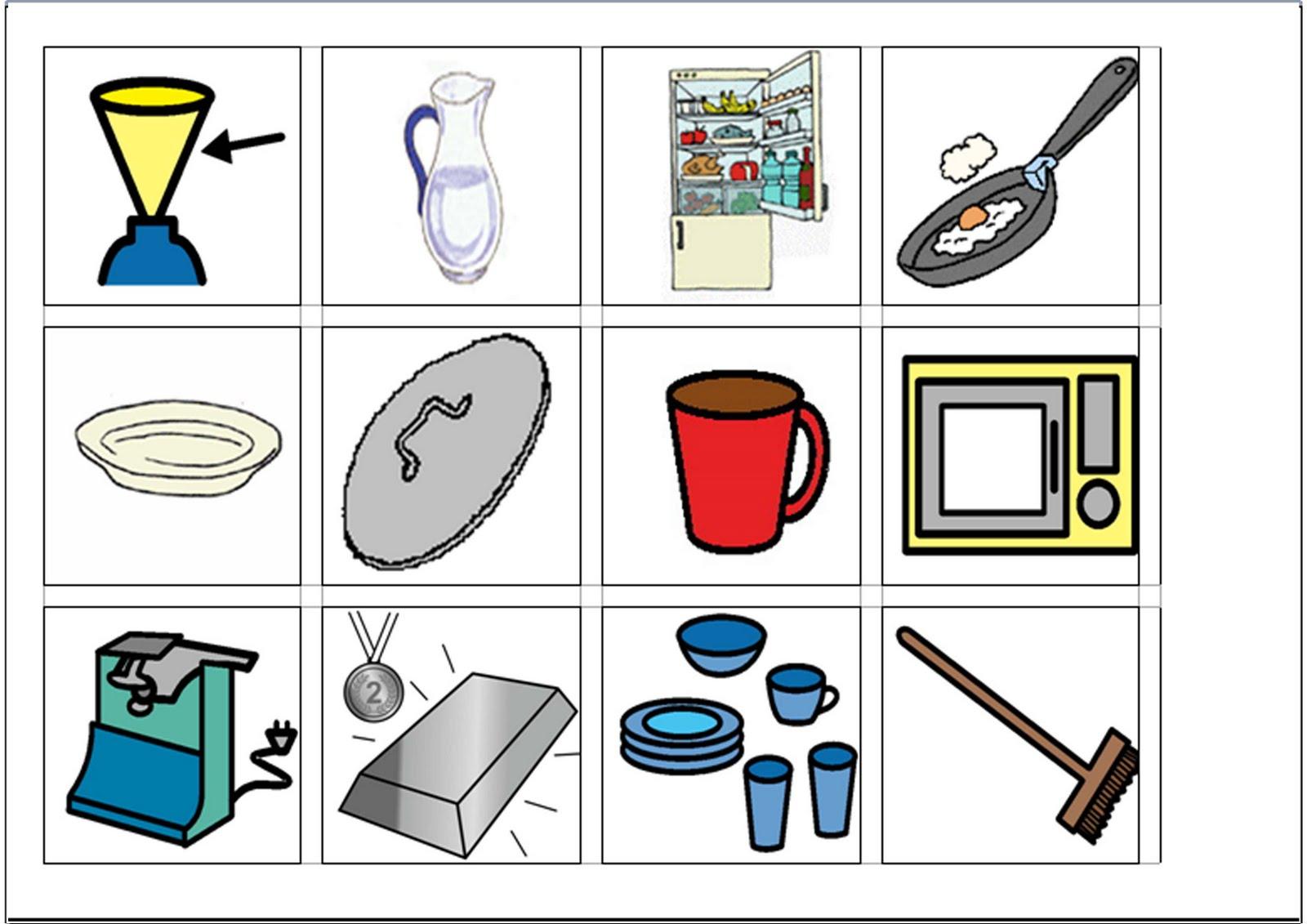 Breal dislexia memory cosas de casa en may scula y en for Casas y cosas