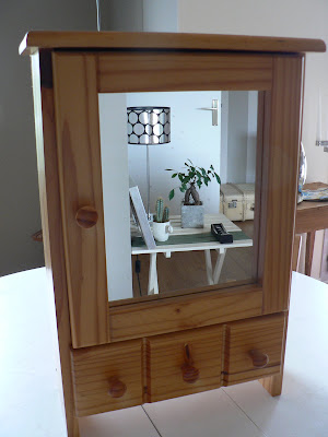Myriam g rat avant apres relooking petit meuble en pin - Relooking petit meuble ...