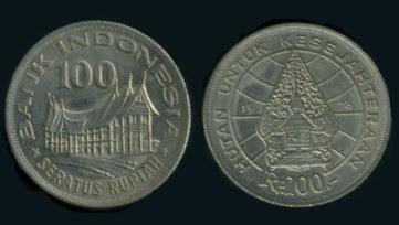 Uang Koin 100 Rupiah 1978