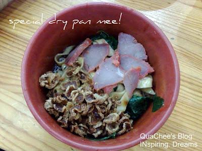 bao bao special dry pan mee