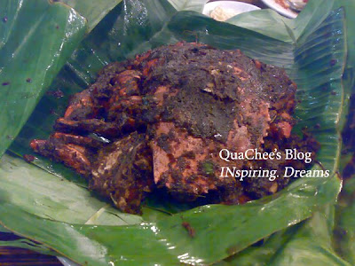 kepiting asap, crab