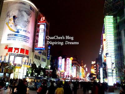 shanghai nanjing road shopping