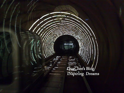 shanghai, place to visit - bund sightseeing tunnel