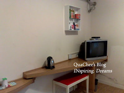 shanghai budget hotel, uhome inn, room, desk