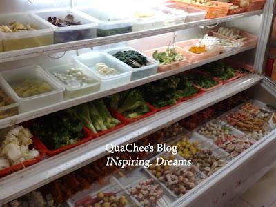 shanghai food, satay celup
