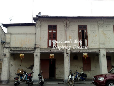 muar town, old building
