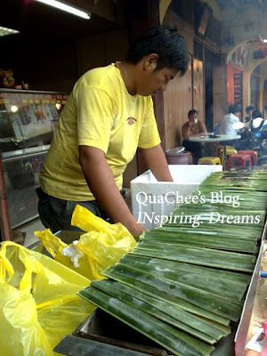 muar food, otak otak