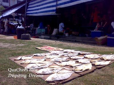 pasar ikan masin kk dried fish