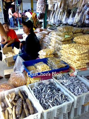 pasar ikan masin seaweed