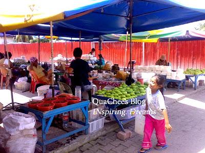 kk dry market vegetable