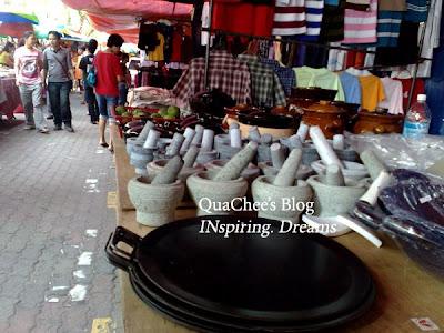 gaya market pan lesung
