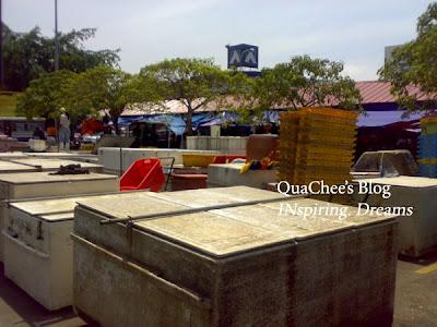 kk market, boxes