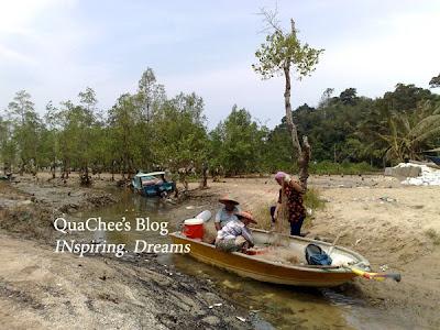 kuching fisherman kampung