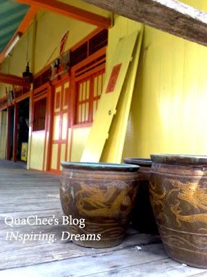kuching kampung buntal chinese house
