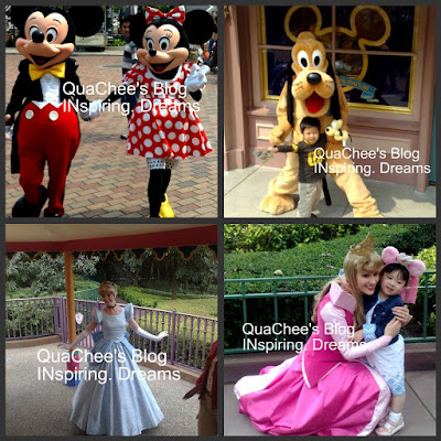 hong kong disneyland cartoon characters